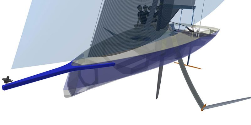 Youth America's Cup boat rendering