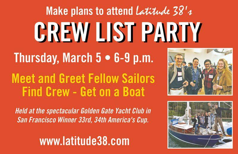 Latitude 38 Crew Party