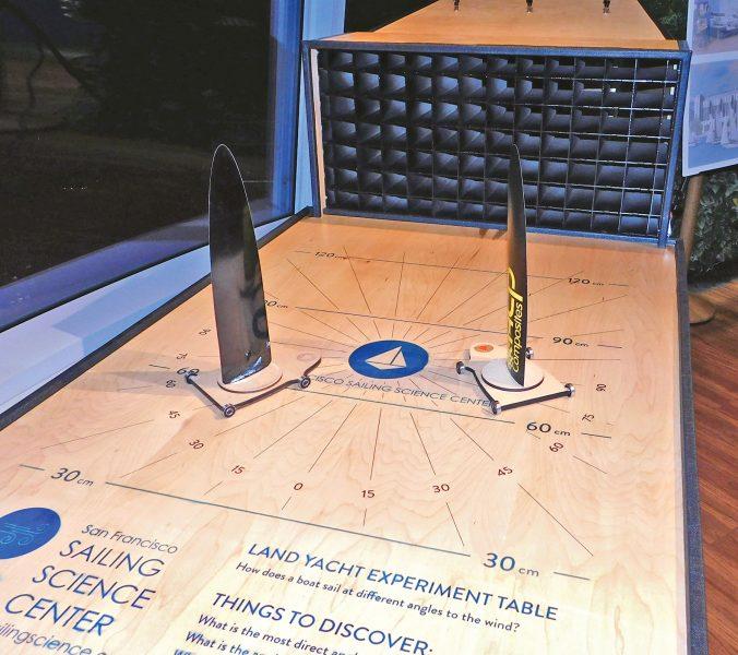 Sailing Science Center Display