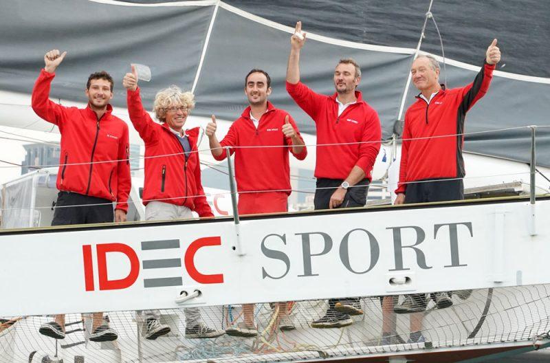 IDEC Sport crew