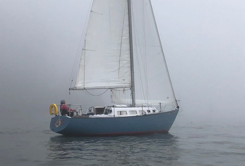 Summer Sailstice in the fog