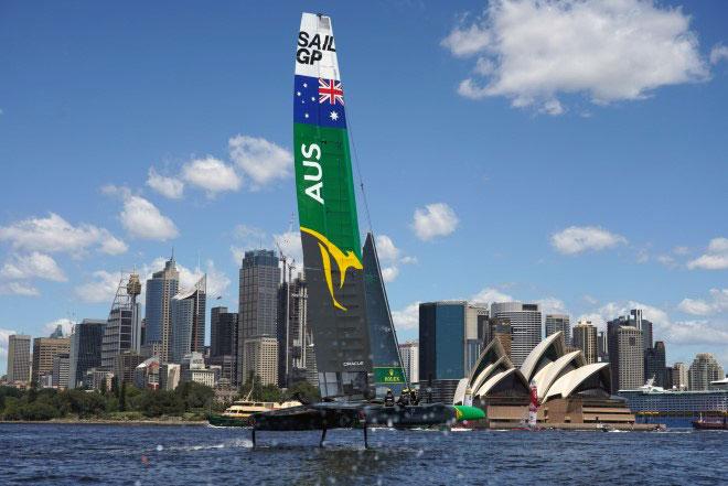 Team Australia in Sydney