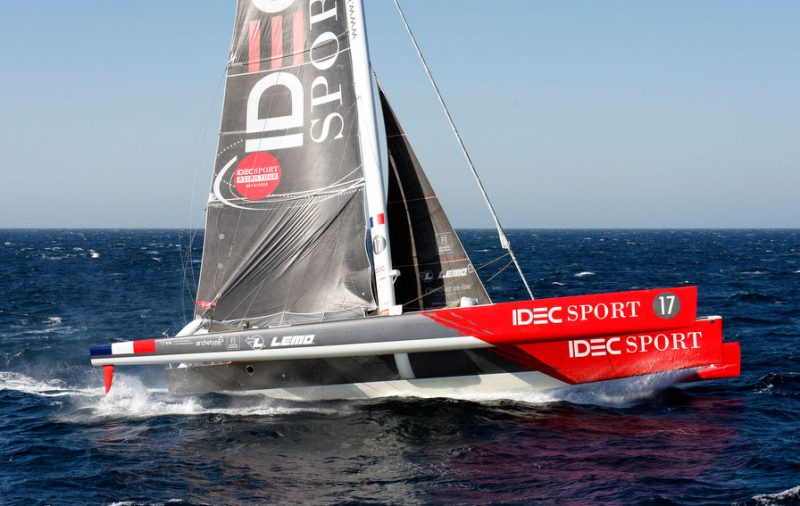 IDEC Sport sailing