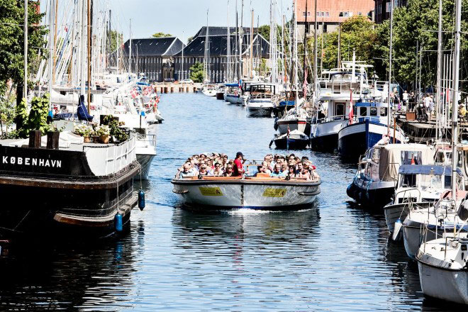 Canal tour in Copenhagen
