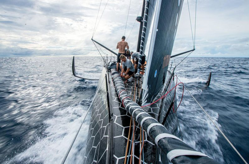 Aboard the 11th Hour Racing IMOCA