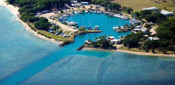 Vuda Point Marina in Fiji