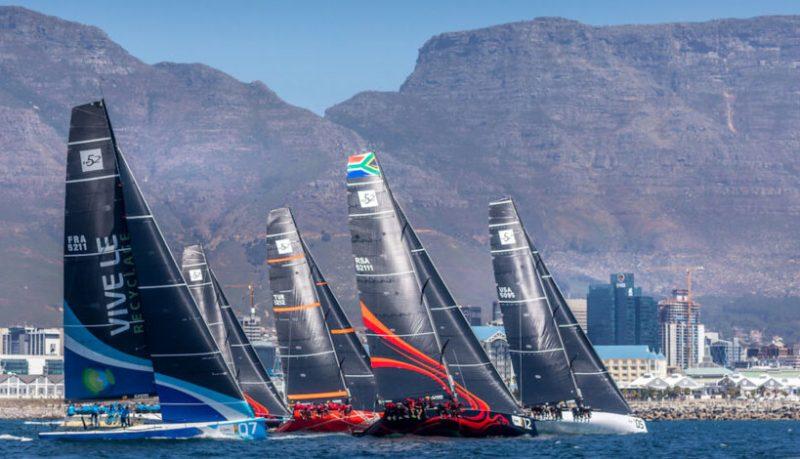 Fleet racing in Cape Town