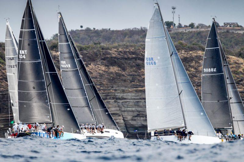 Racing in last year's Sailing Week