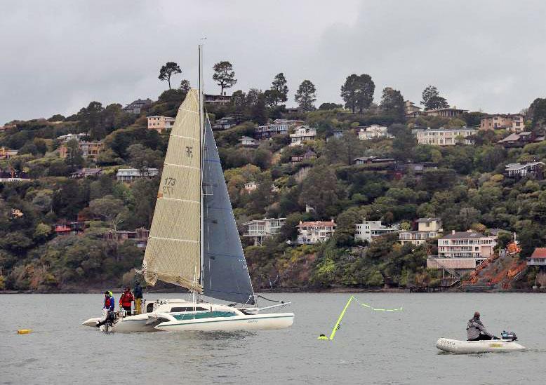 Crew overboard practice