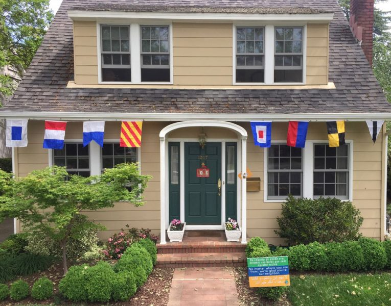 Signal flags: two words