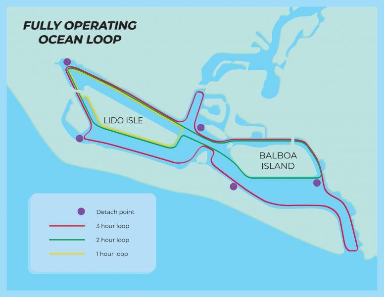 Newport Bay map