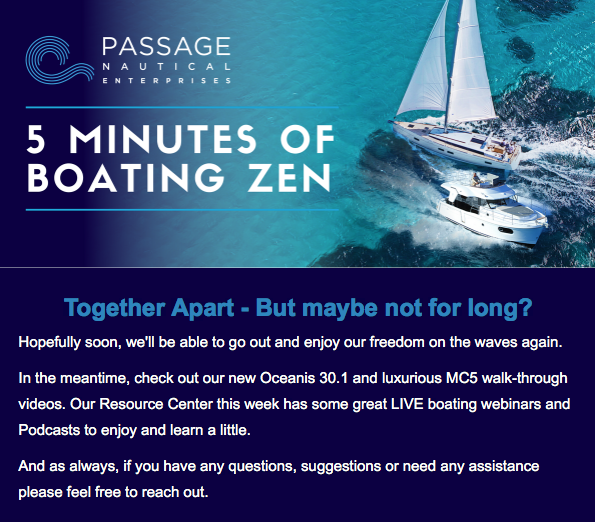 Passage Nautical