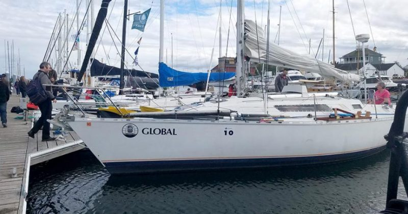 Team Repeat Offender's Beneteau at the dock