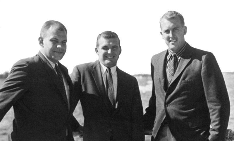 Fred Heald and cousins Everett Pearson and Clinton Pearson