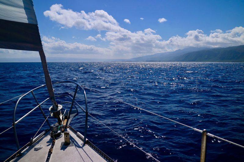 Approaching Oahu