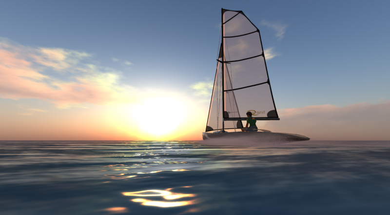 Sunset Sail Second Life