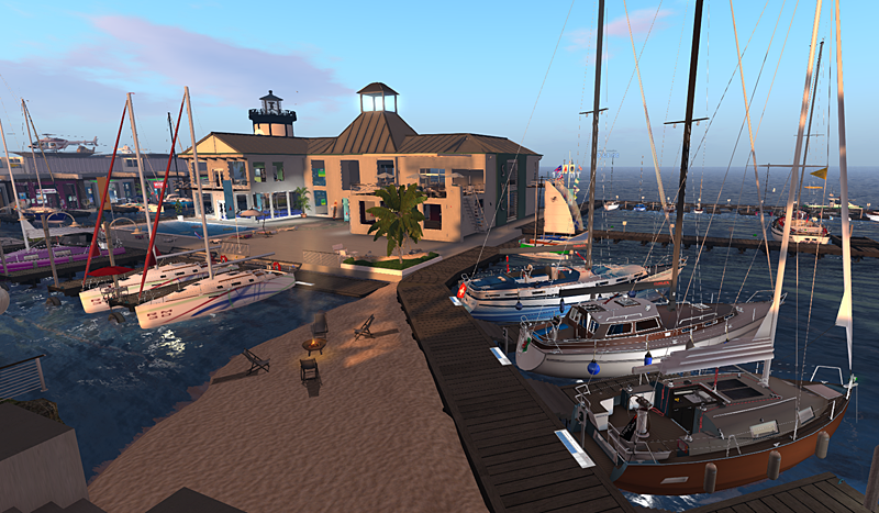 The Boats of Second Life