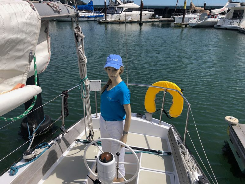 Chrissy Field takes the helm