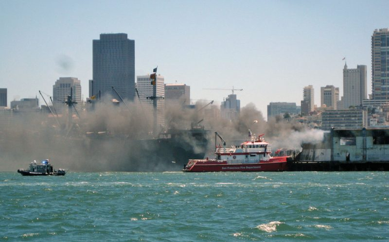 Pier 45 fire