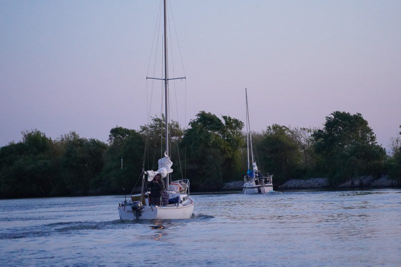 Sailboats in Georgiana