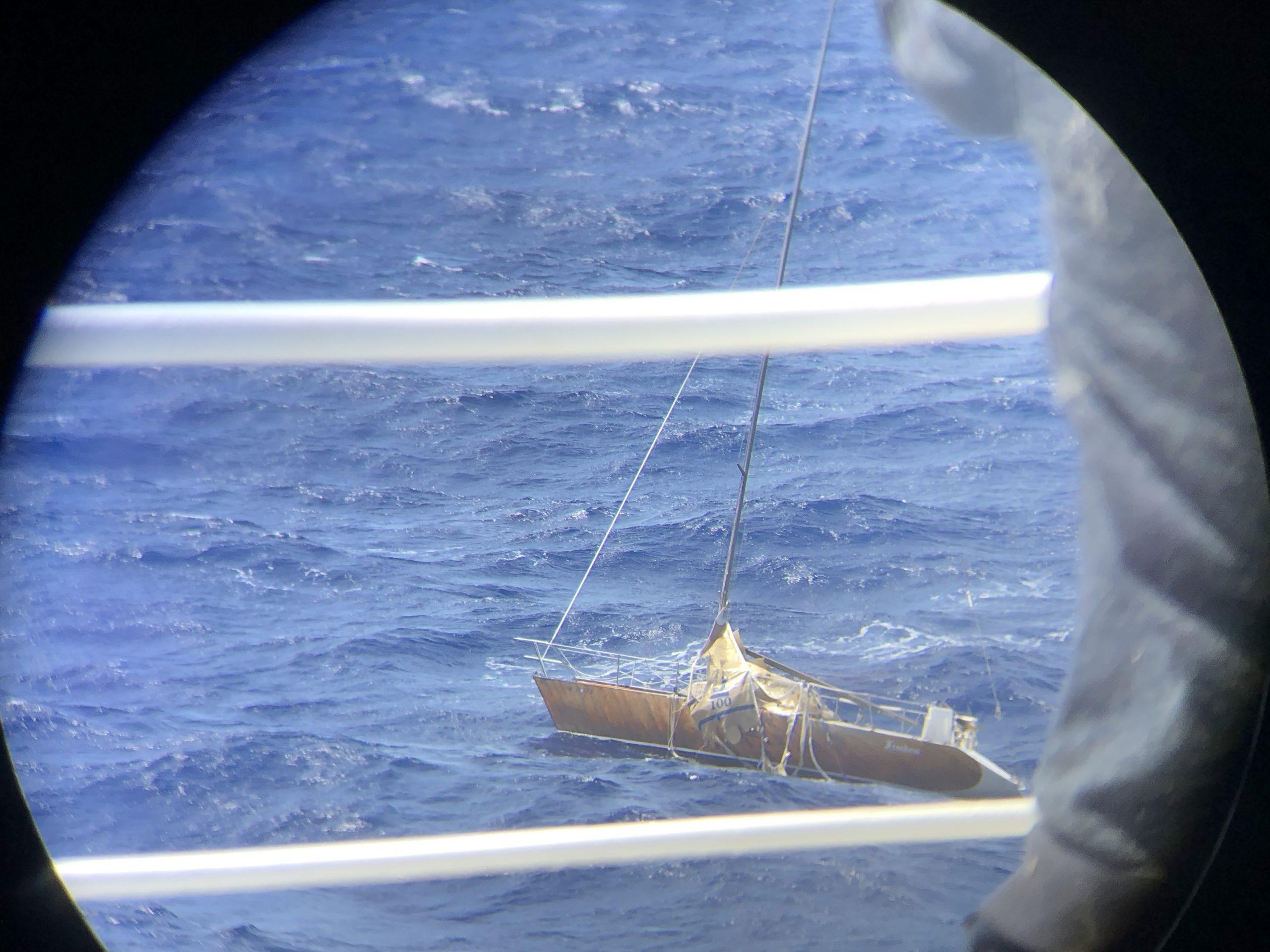 SV Freedom adrift