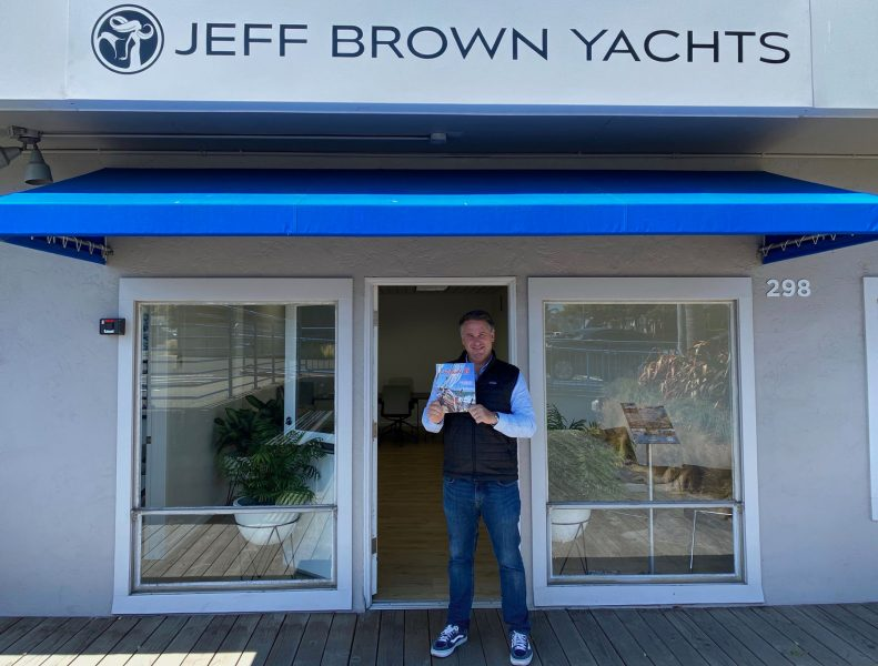 Pete McCormick at Jeff Brown Yachts
