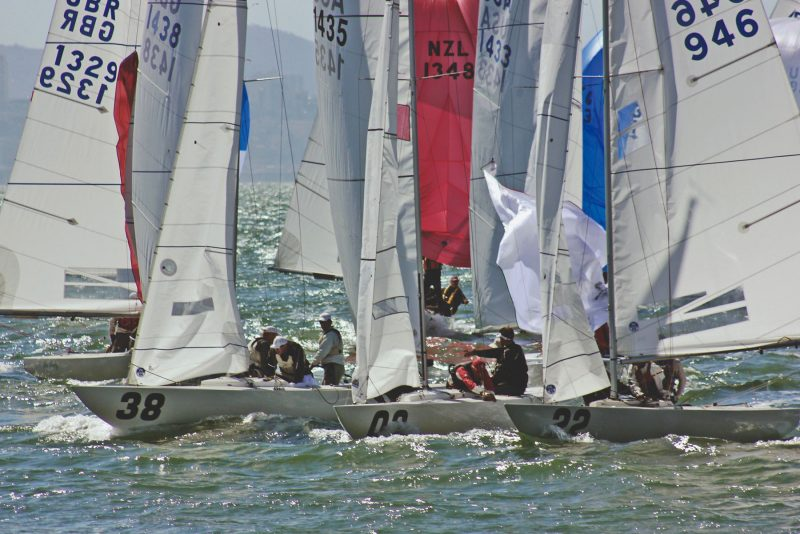 Etchells on the race course