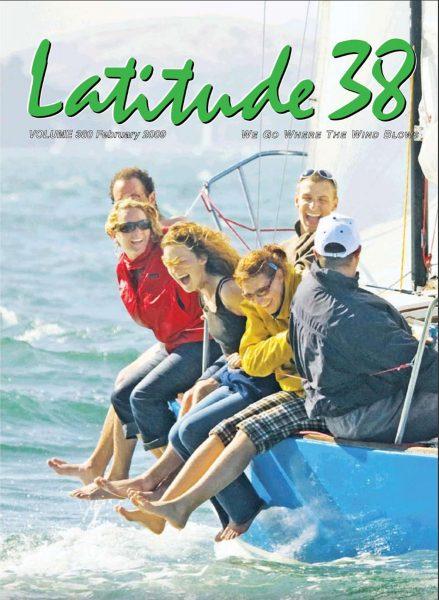 February 2009 Latitude 38 cover