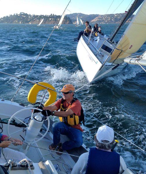 Close action sailing