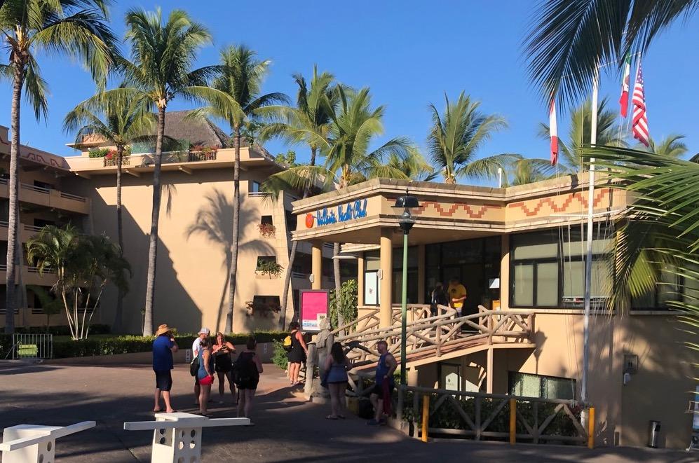 Vallarta Yacht Club entrance