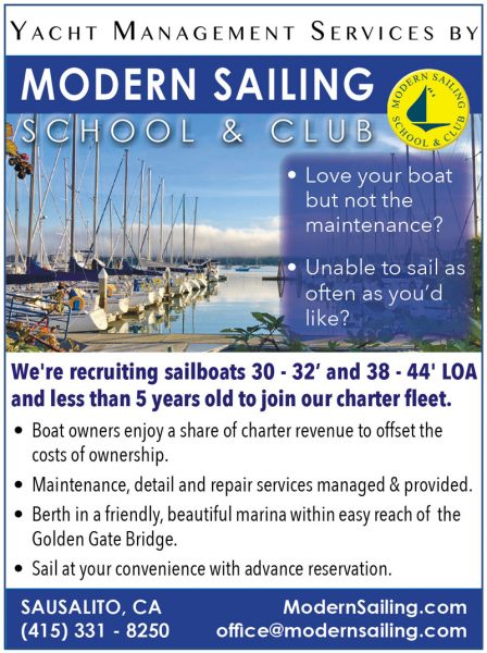 Modern Sailing Yacht Management Services