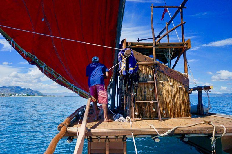 Onboard the drua
