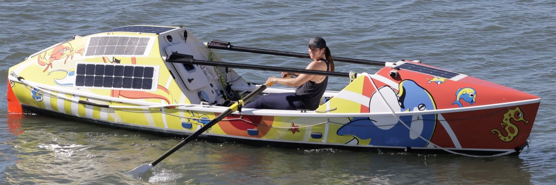 Lia's row boat