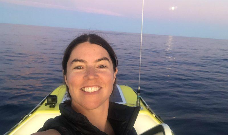 Lia Ditton at sea