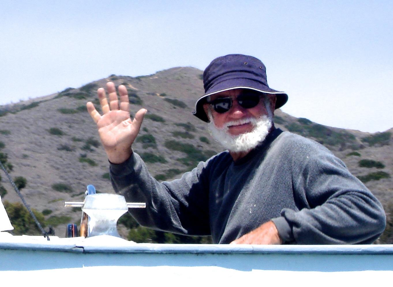 HAPPY's owner, Bob Stuart