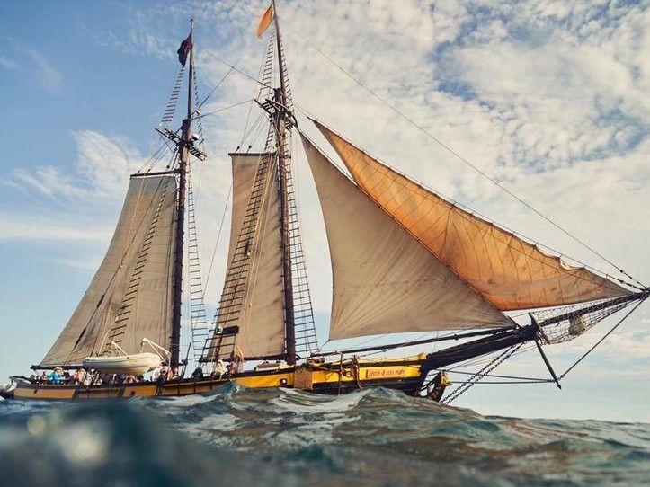 Tall ship, 'Spirit of Dans Point'