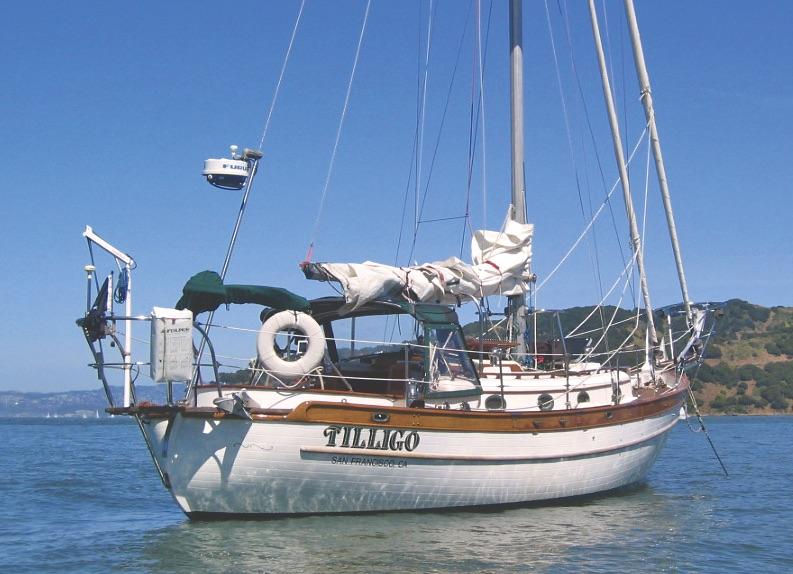 Tilligo anchored