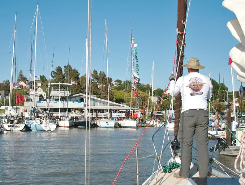 Entering VYC - Great Vallejo Race