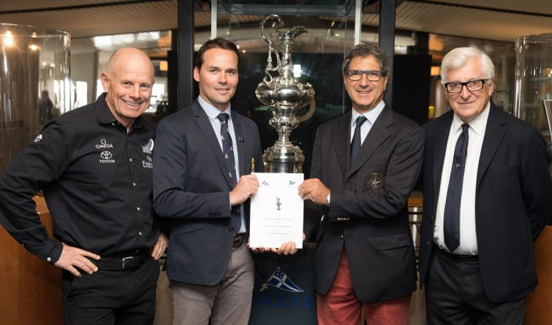 Four men and the Cup