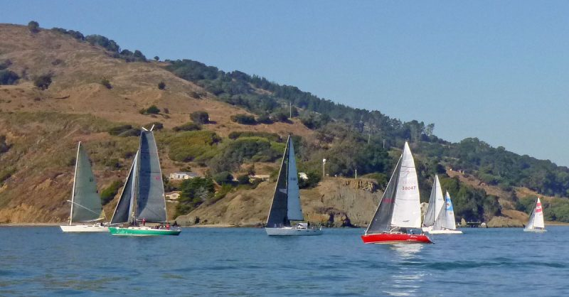 Boats at Angel Island's Point Blunt