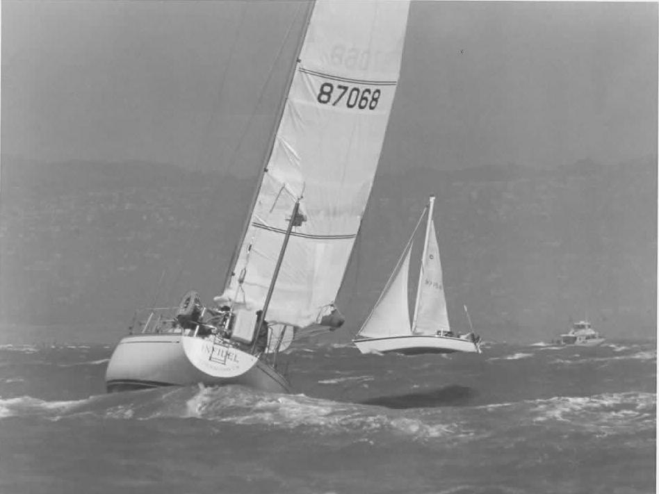 Infidel under sail