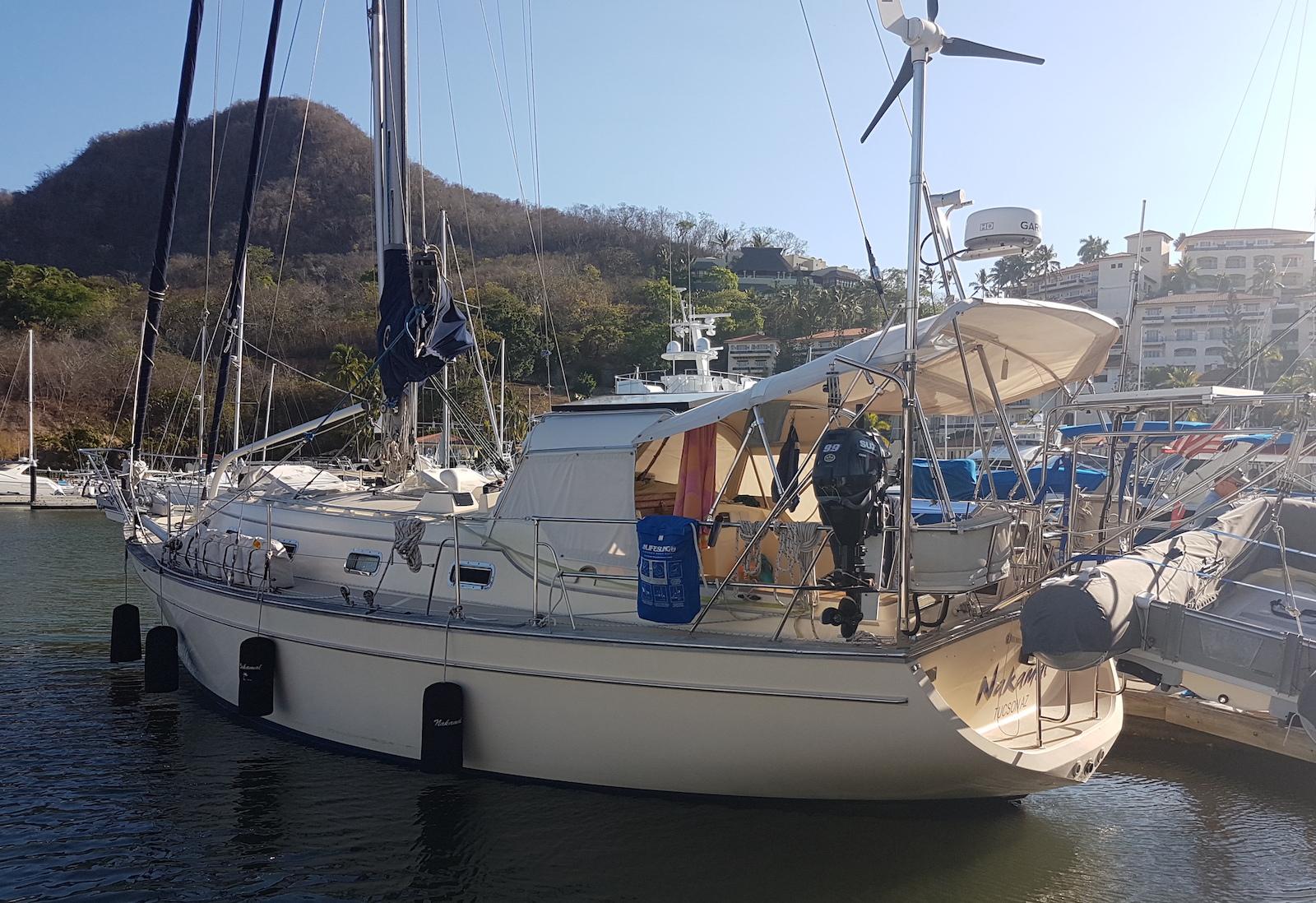 Nakamal at the dock