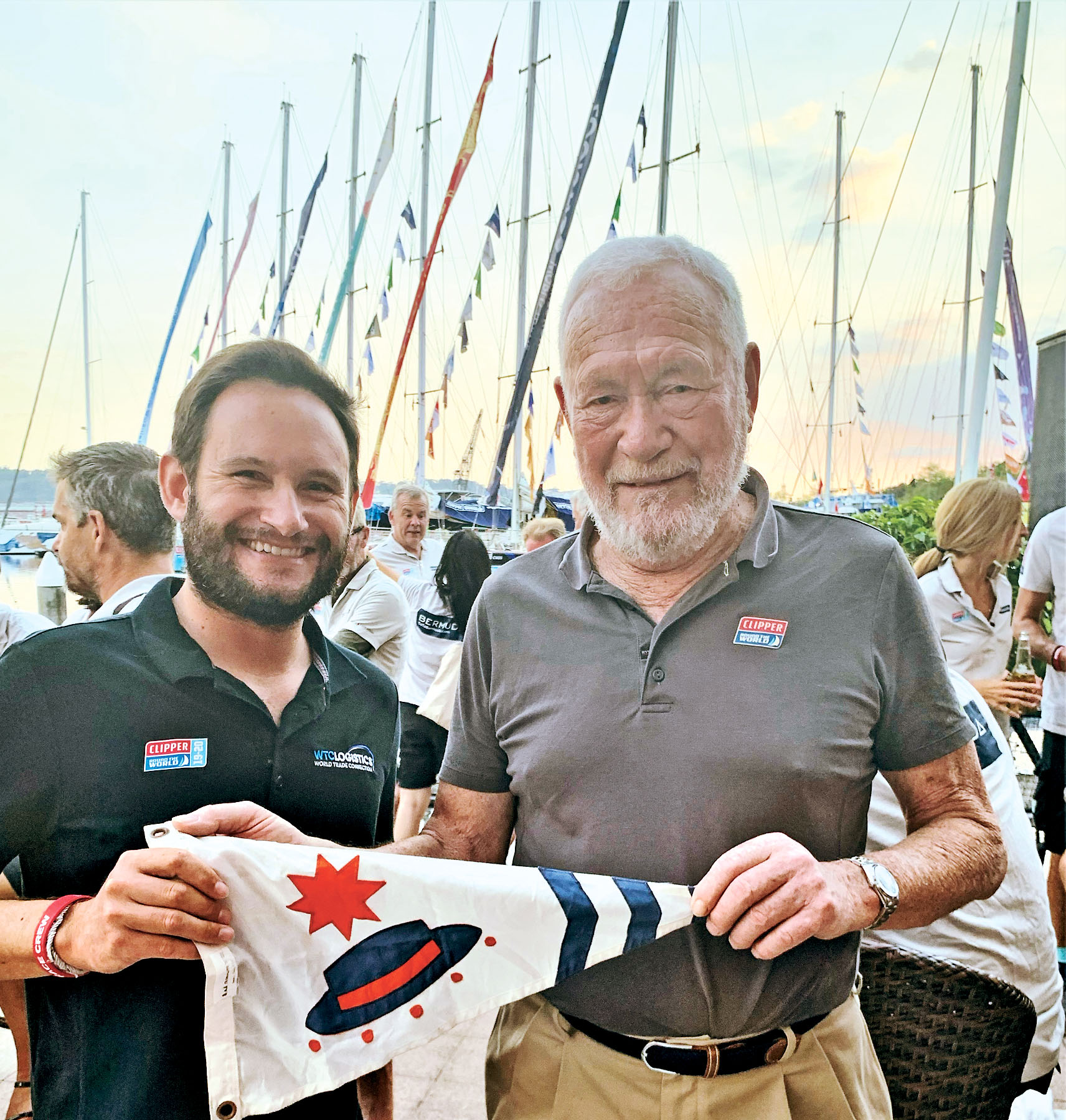 Mike and Robin Knox Johnson