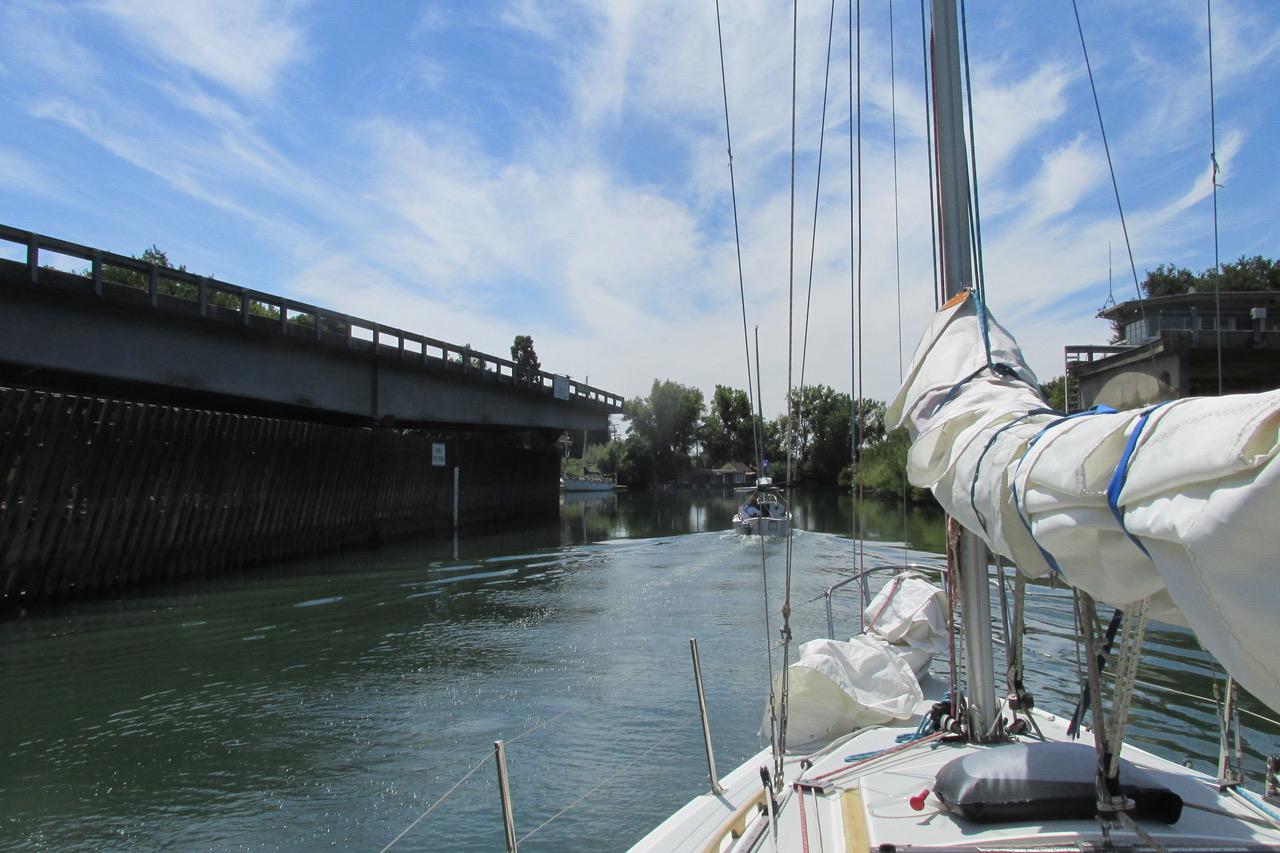 Georgia Slough Bridge
