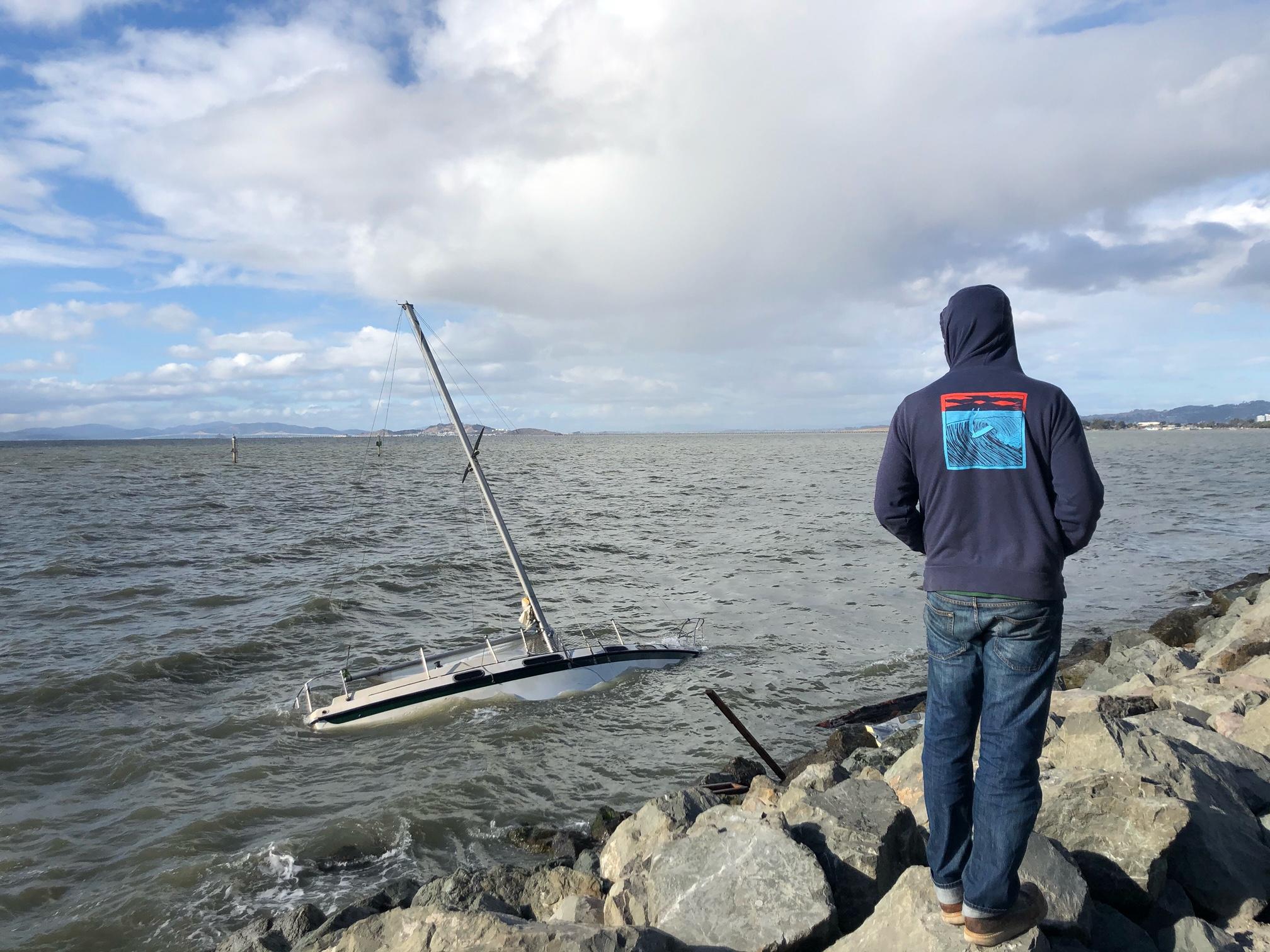 Rocks two, sailboats nil.