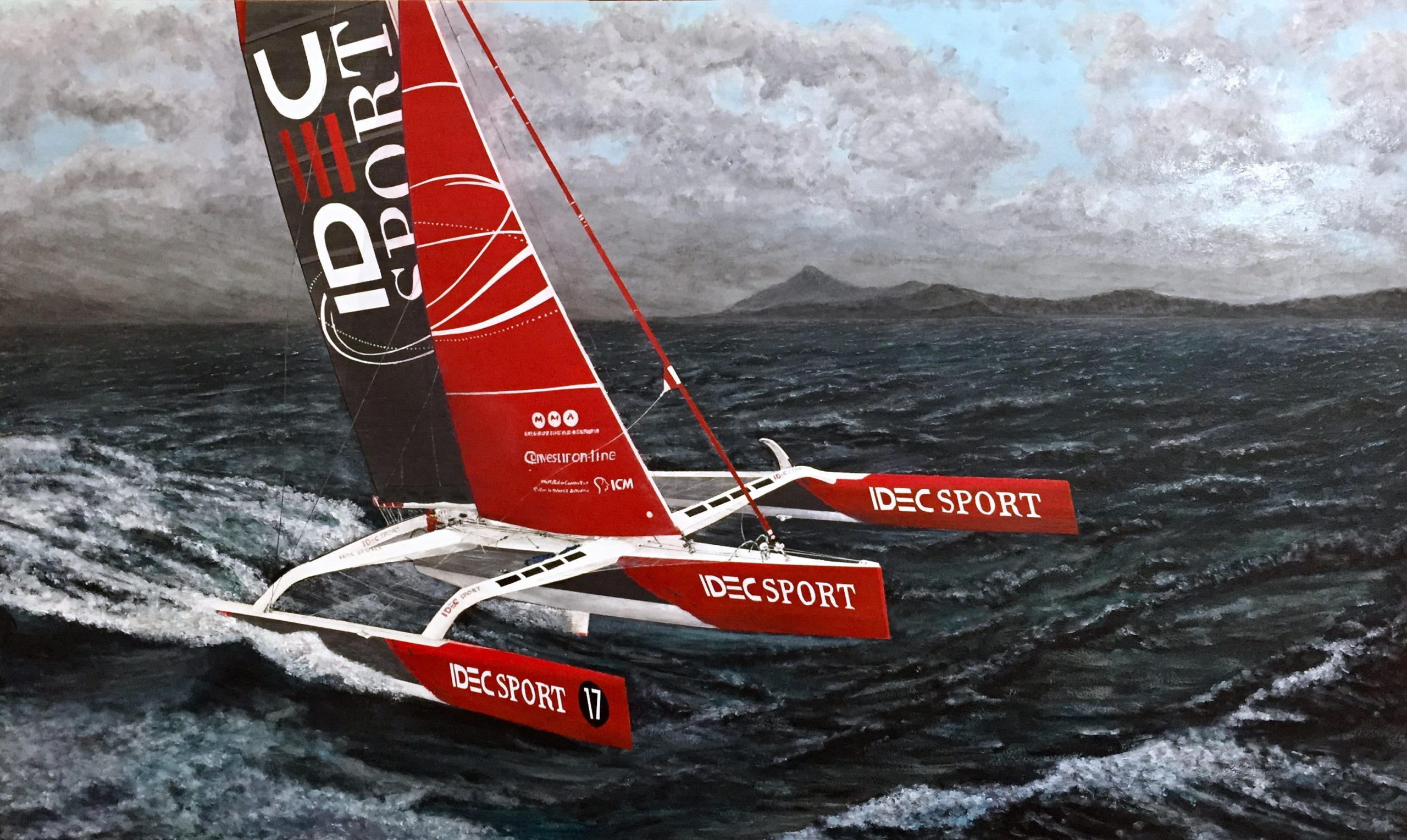 Cape Horn to Port - painting by John David Taylor