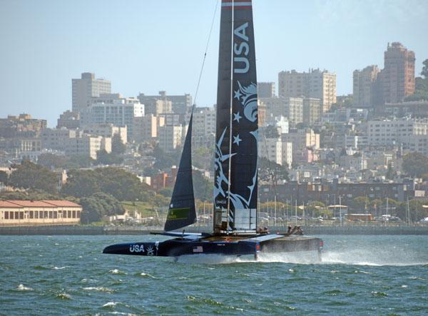 SailGP USA in San Francisco