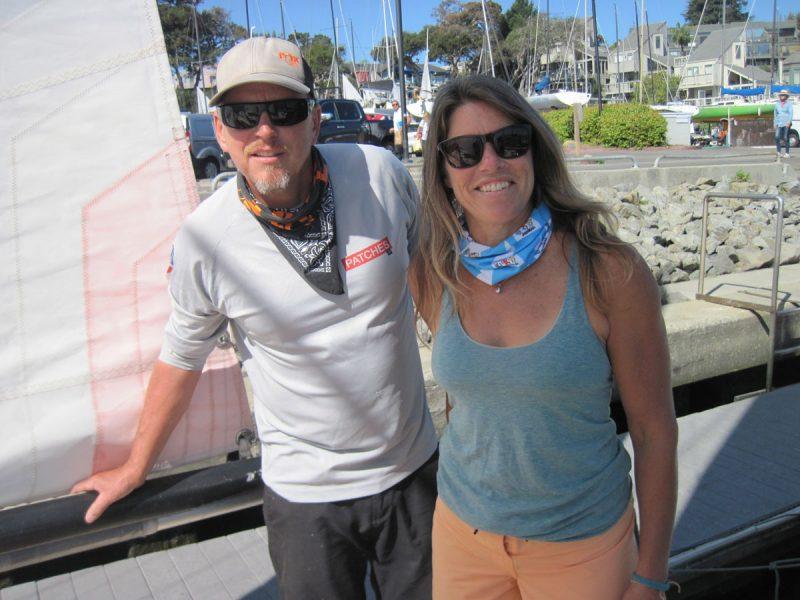 Scott and Karen at the dock