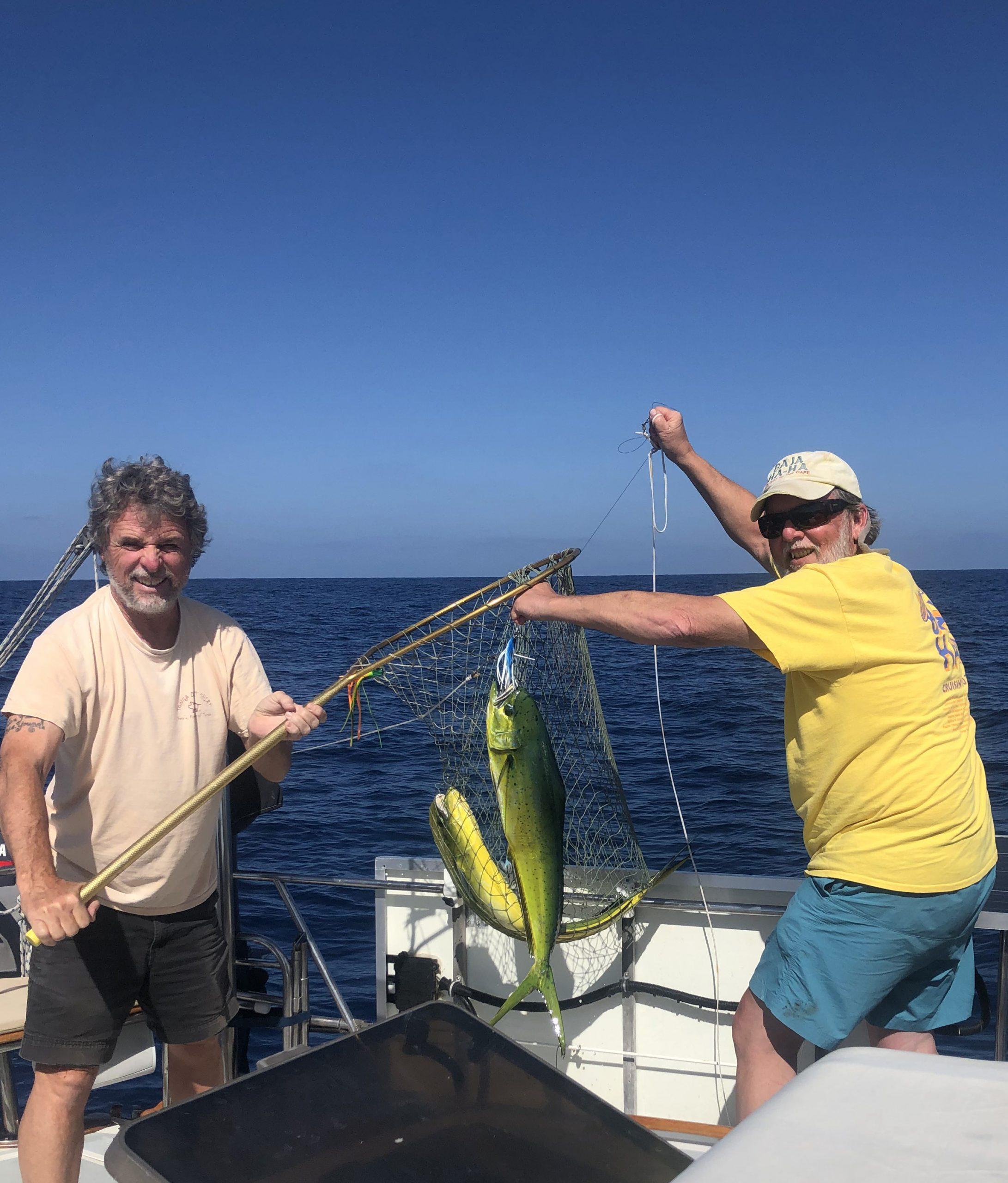 Catching fish during Nada Ha-Ha