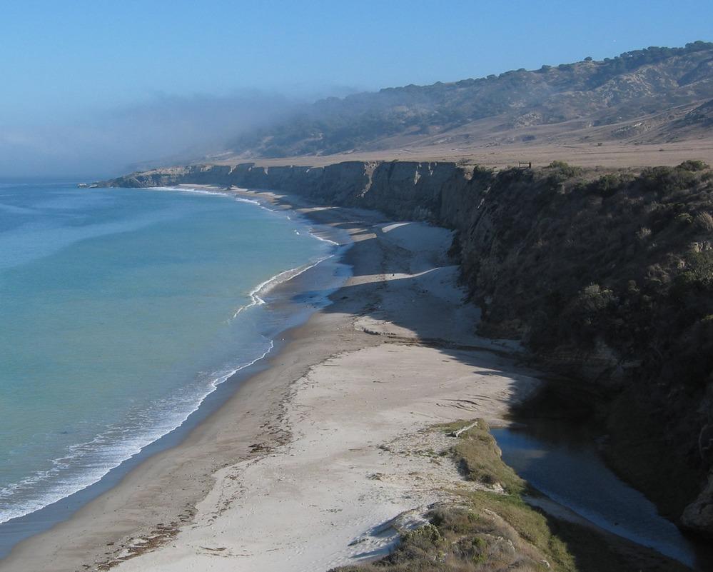 Water Canyon Beach on Santa Rosa Island